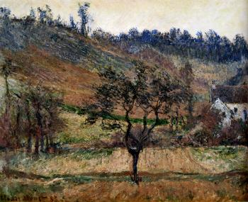 Claude Oscar Monet : The Valley Of Falaise