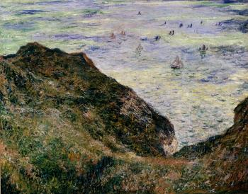 Claude Oscar Monet : View Over The Seas