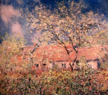Claude Oscar Monet : Springtime At Giverny