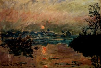Claude Oscar Monet : Sunset