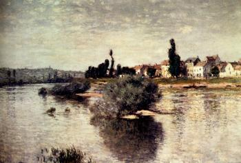 Claude Oscar Monet : The Seine At Lavacourt