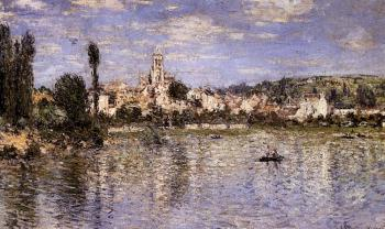 Claude Oscar Monet : Vetheuil In Summer