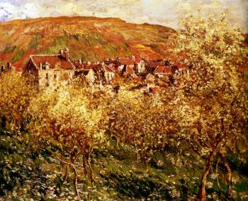 Claude Oscar Monet : Apple Trees In Blossom