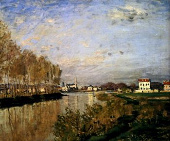 Claude Oscar Monet : The Seine At Argenteuil, 1873