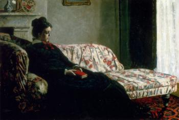 Meditation (Madame Monet On The Sofa)