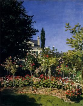 Garden In Flower At Sainte-Adresse