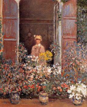 Claude Oscar Monet : Camille At The Window