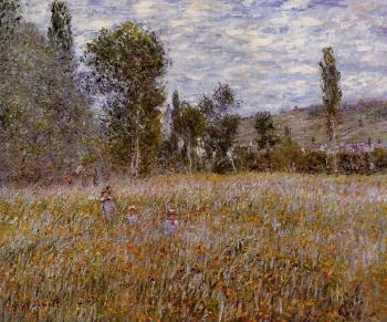 Claude Oscar Monet : A Meadow