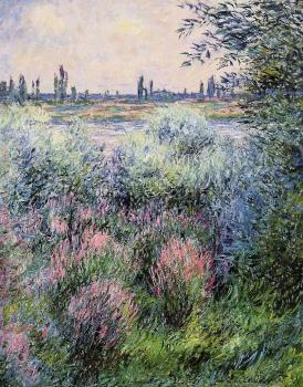 Claude Oscar Monet : A Spot on the Banks of the Seine