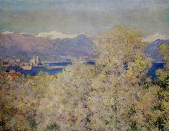 Claude Oscar Monet : Antibes, View of the Salis Gardens