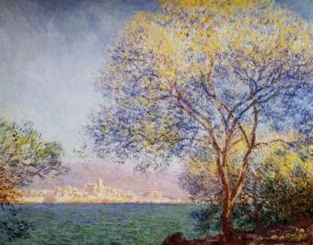Claude Oscar Monet : Antibes in the Morning