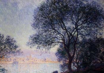 Claude Oscar Monet : Antibes Seen from the Salis Gardens