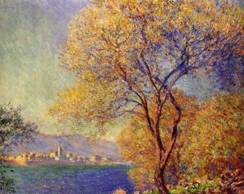Claude Oscar Monet : Antibes Seen from the Salis Gardens II