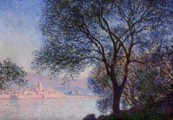 Claude Oscar Monet : Antibes Seen from the Salis Gardens III