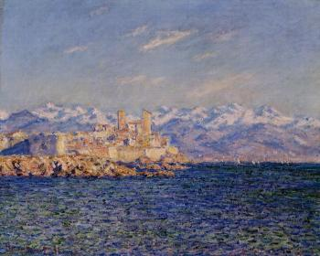 Claude Oscar Monet : Antibes, Afternoon Effect