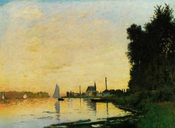 Claude Oscar Monet : Argenteuil, Late Afternoon