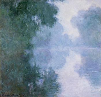 Arm of the Seine near Giverny in the Fog