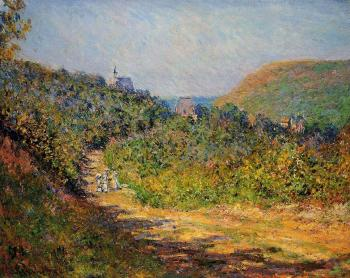 Claude Oscar Monet : At Les Petit-Dalles