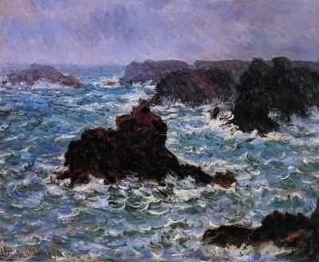 Claude Oscar Monet : Belle-Ile, Rain Effect