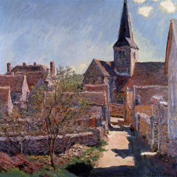 Claude Oscar Monet : Bennecourt