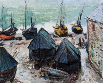 Boats on the Beach, Etretat II