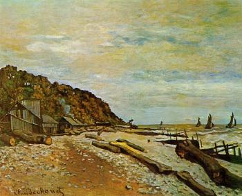 Claude Oscar Monet : Boatyard near Honfleur
