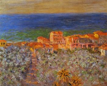 Claude Oscar Monet : Borgo Marina at Bordighera
