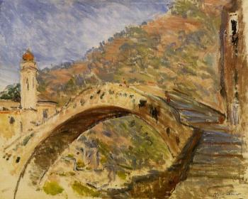 Claude Oscar Monet : Bridge at Dolceacqua
