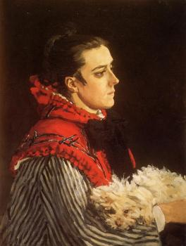 Claude Oscar Monet : Camille with a Small Dog