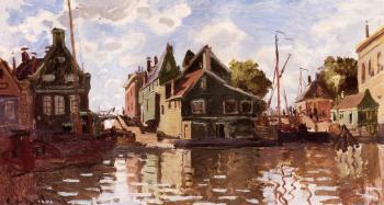 Claude Oscar Monet : Canal in Zaandam