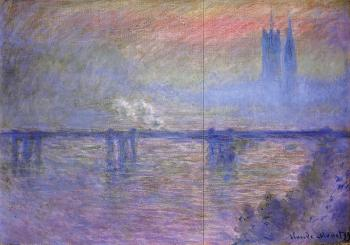 Claude Oscar Monet : Charing Cross Bridge