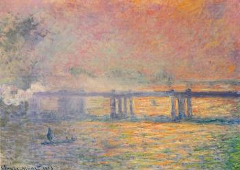 Claude Oscar Monet : Charing Cross Bridge II