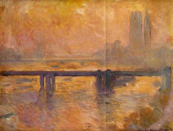 Claude Oscar Monet : Charing Cross Bridge III