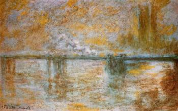 Claude Oscar Monet : Charing Cross Bridge IV