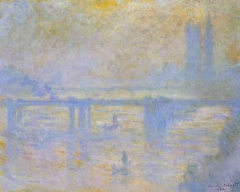 Claude Oscar Monet : Charing Cross Bridge V