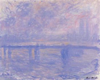 Claude Oscar Monet : Charing Cross Bridge VI