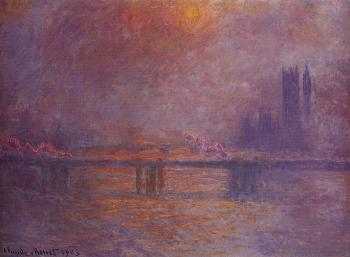 Claude Oscar Monet : Charing Cross Bridge, The Thames