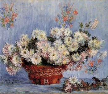 Claude Oscar Monet : Chrysanthemums
