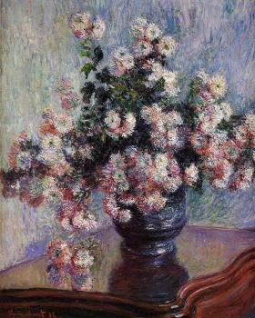 Claude Oscar Monet : Chrysanthemums II