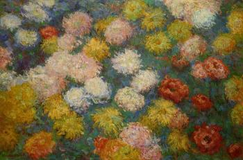 Claude Oscar Monet : Chrysanthemums III