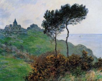 Claude Oscar Monet : Church at Varengeville, Grey Weather