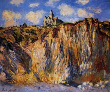 Claude Oscar Monet : Church at Varengeville, Morning Effect
