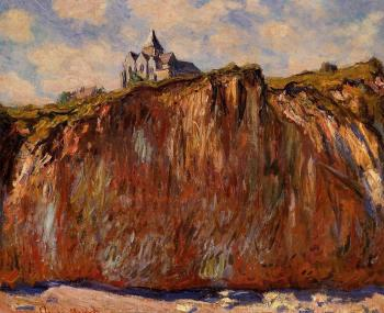 Claude Oscar Monet : Church at Varengeville