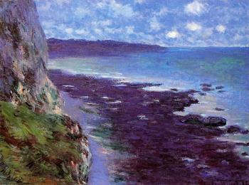 Claude Oscar Monet : Cliff near Dieppe