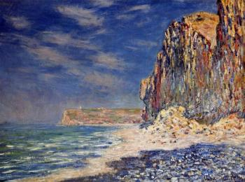 Claude Oscar Monet : Cliff near Fecamp