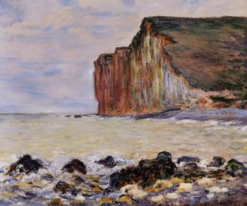 Claude Oscar Monet : Cliffs of Les Petites-Dalles