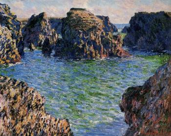 Claude Oscar Monet : Coming into Port-Goulphar, Belle-Ile