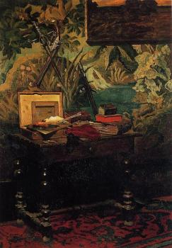 Claude Oscar Monet : Corner of a Studio