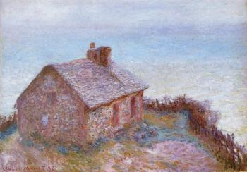 Claude Oscar Monet : Customs House at Varengeville