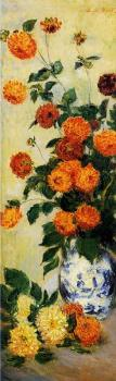 Claude Oscar Monet : Dahlias